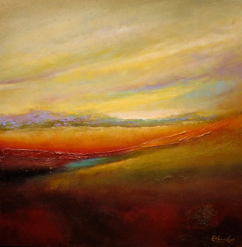 My Journey Home - Michael Ethridge ~   I own this painting. How cool is that? Michael and I live in the same town. He does fabulous work.