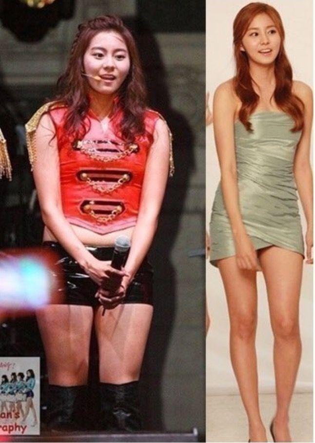 Корейские звезды которые похудели