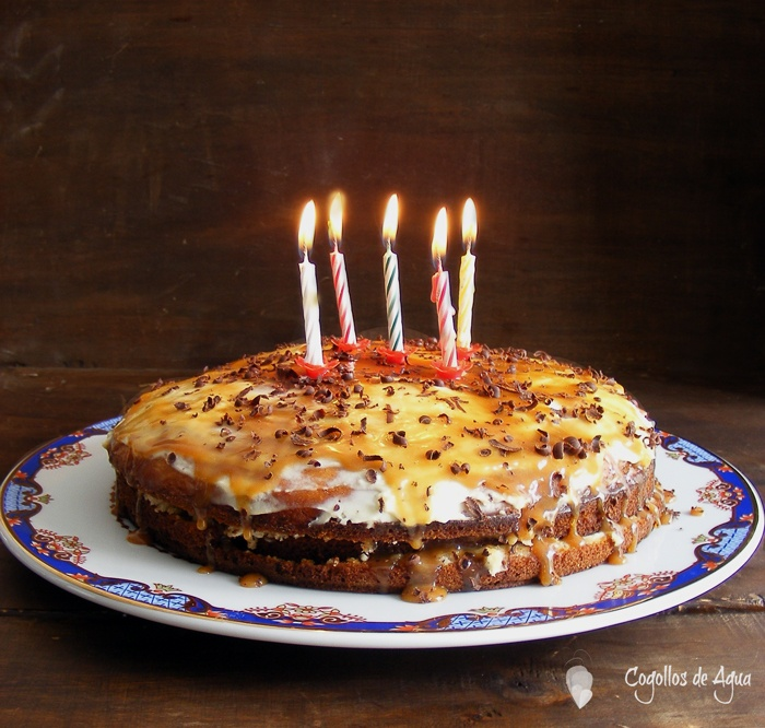 leches dulce de leche seeps in dulce de leche cornmeal and milk cake ...