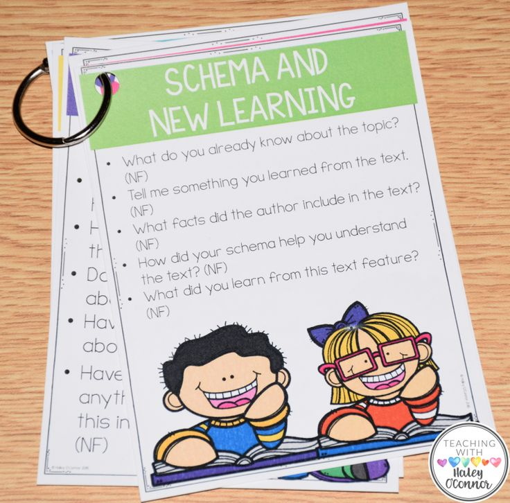 Guided Reading Comprehension-Schema