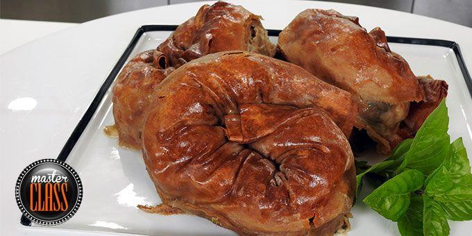 Στριφτές πίτες ολικής άλεσης με σπανάκι και κιμά