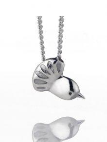 Boh Runga Silver Fantail Pendant