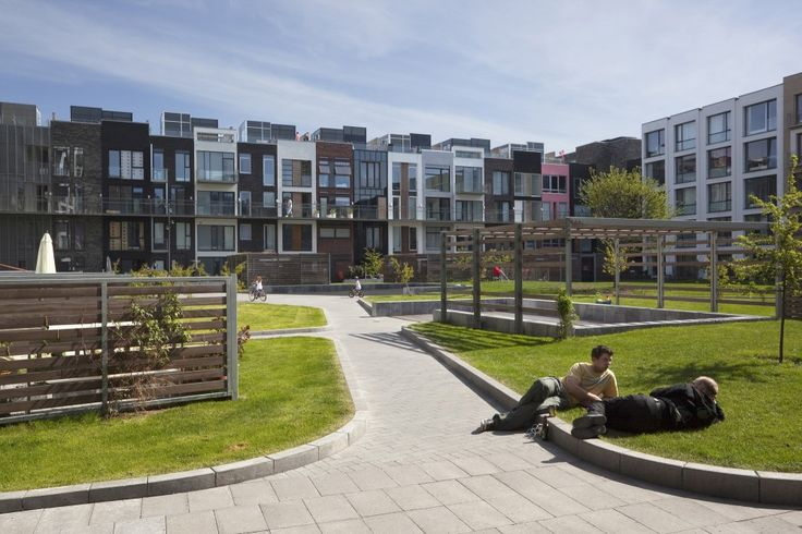 Arkitema Architects + Sjoerd Soeters - Sluseholmen, Copenhagen, Denmark (2008) #residential #urban #housing
