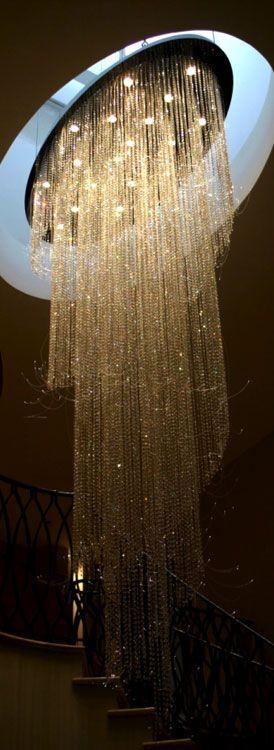 Crystal chandeliers · elegant chandelierscrystal chandeliersfoyer lightinglighting designlighting ideasceiling