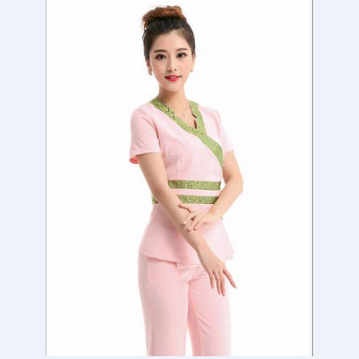 2016 Медицинская Одежда, Униформа Больницы Лаборатории Пальто Корея Стиль Женщины Медицинский Скраб Дизайн Одежды Дышащий Бесплатная Доставка S-XXXL(China (Mainland))