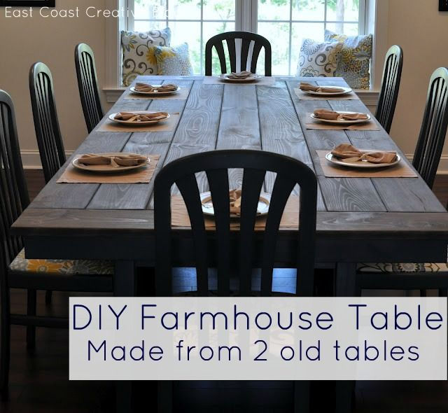 Make Your Own Farmhouse Table The Easy Way Diy
