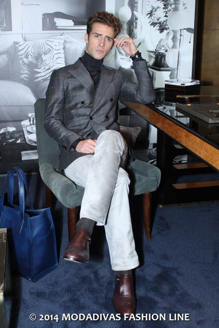 Tod's Fall Winter 2014/15: The Gentleman Room