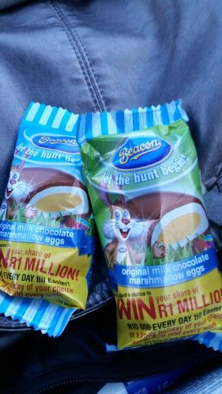 Feeling nostalgic...growing up in south africa during easter time. Beacon marshmallows are the best!