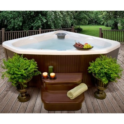 17 best images about hot tubs on pinterest portable spa plugs and massage. Black Bedroom Furniture Sets. Home Design Ideas