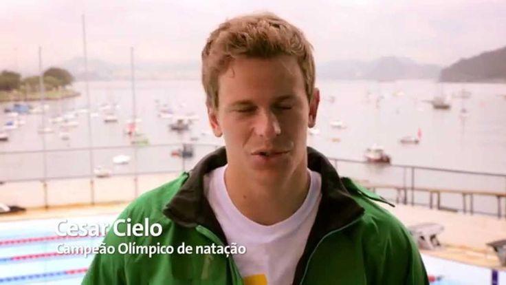 Ser voluntário, por Cesar Cielo - Rio 2016