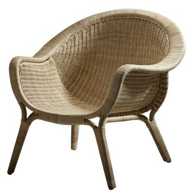 Fauteuil Madame / Réédition 1951 Fauteuil naturel - Sika Design - Décoration et mobilier design avec Made in Design