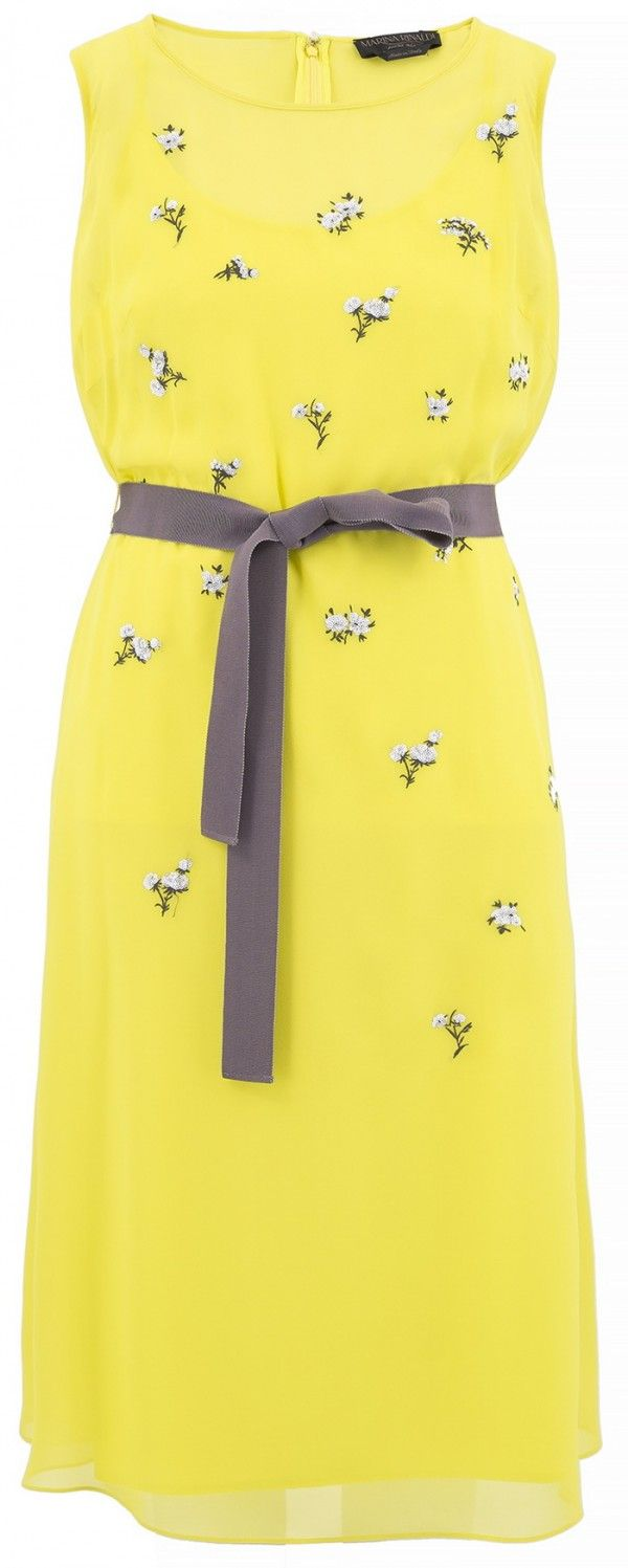 Plus Size Dresses For Spring-Summer 2015 by Marina Rinaldi #marinarinaldi #2015 #spring #summer