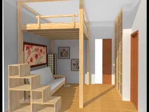 ¿Cómo construir una cama en altura? - YouTube