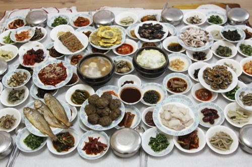 Korean genuine foods