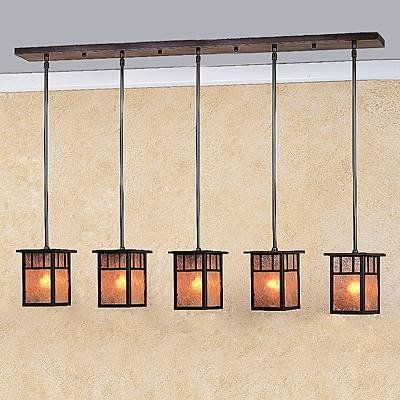 Craftsman Chandelier Light