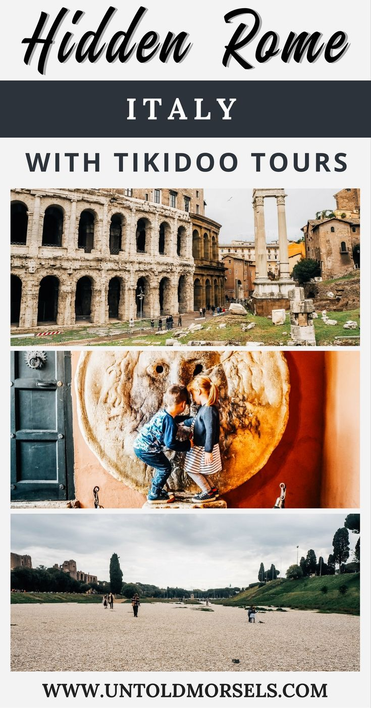 Rome Italy - family tour of Ancient Rome sites with Tikidoo tours