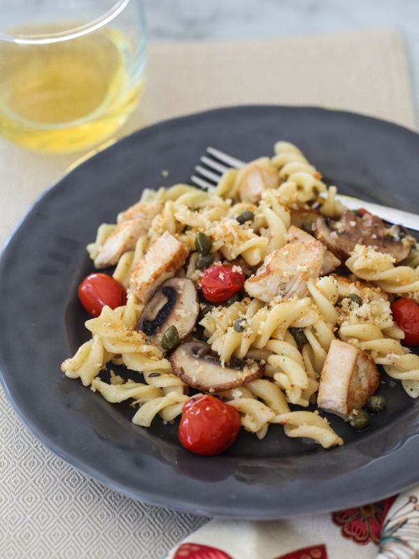 Chicken Piccata Pasta and Friday Faves