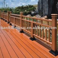 timber railings exterior