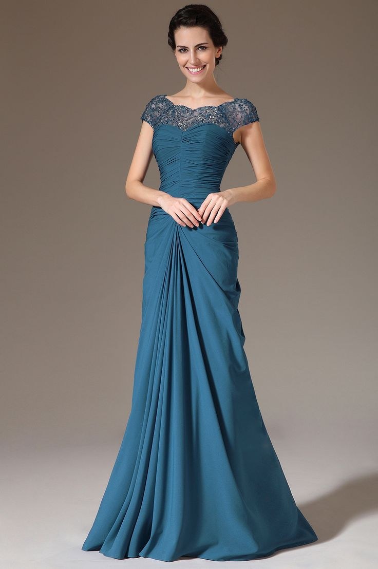 eDressit 2014 New Blue Sequined Lace Top Dress