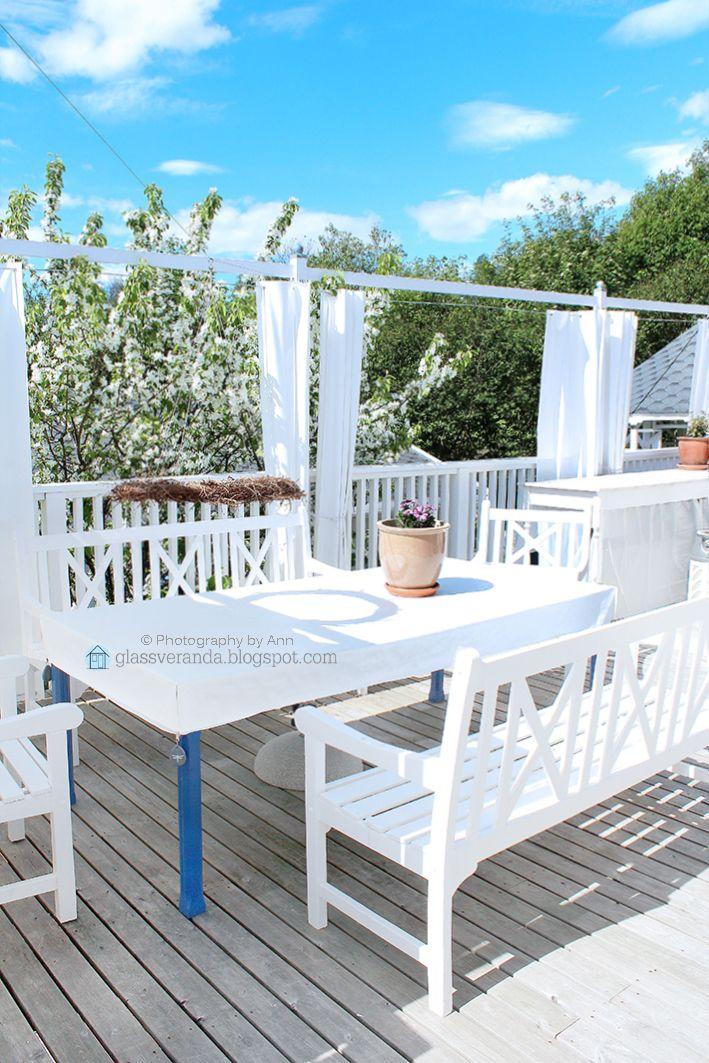 A corner of our south-west terrace :) To see more: https://www.instagram.com/glassveranda_interior/ and http://glassveranda.blogspot.com/