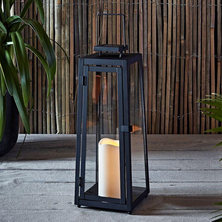Yarra Large Solar Garden Lantern