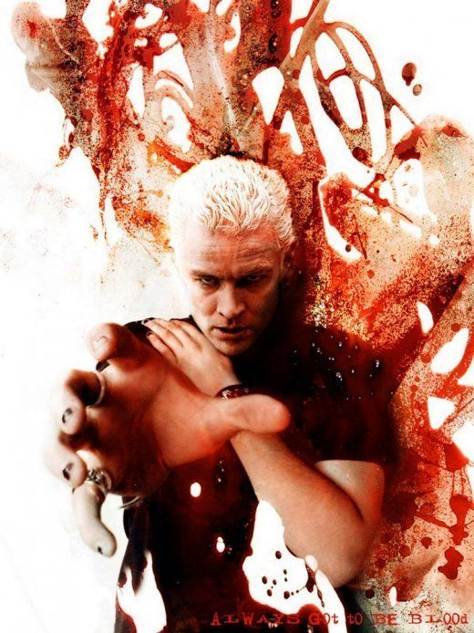 Spike from Buffy the Vampire Slayer (James Marsters). In love with him!