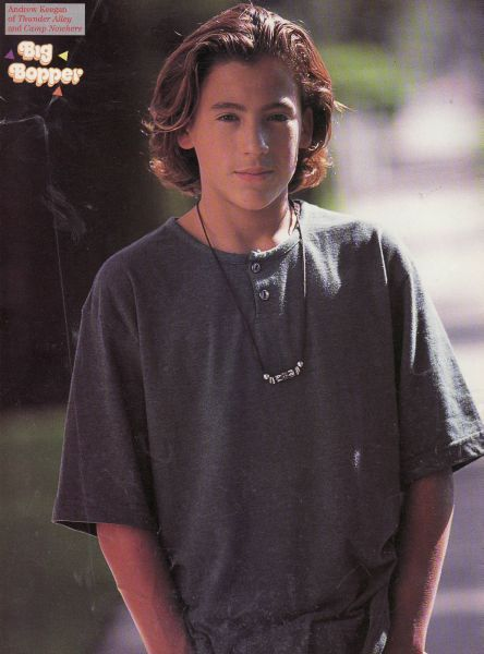 Andrew Keegan; I had this very poster in my room back in the day!! Loved him!