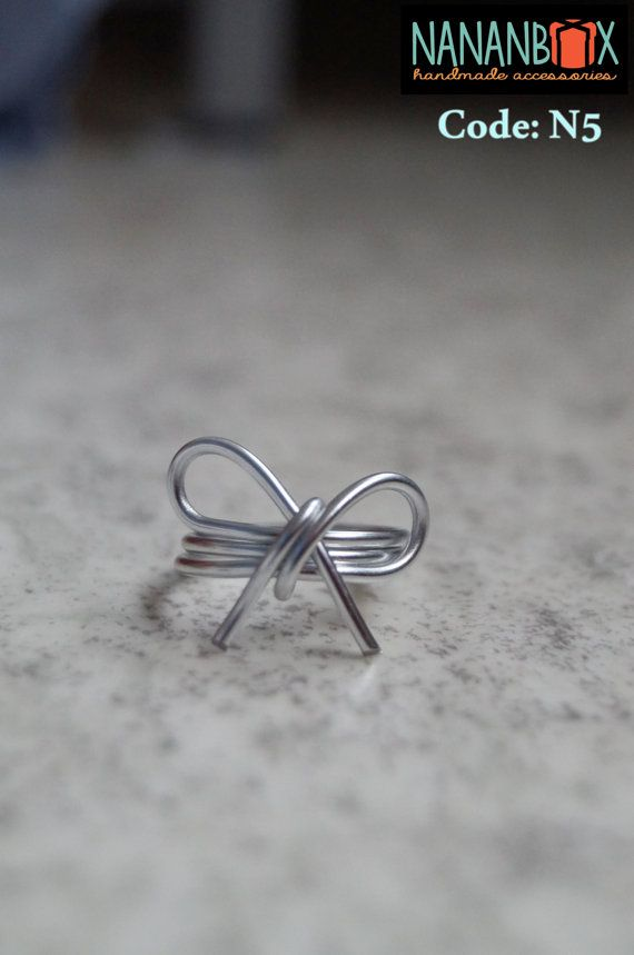 Ribbon ring  Code: N5 by NananBox on Etsy