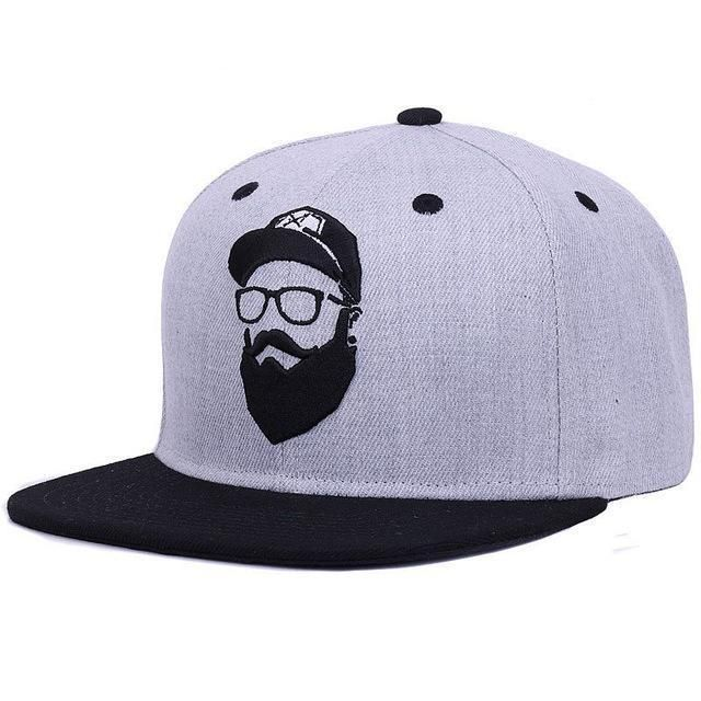 d4c00b85f7e04 Original grey cool hip hop cap men women hats vintage embroidery character  baseball caps gorras planas bone snapback in 2019