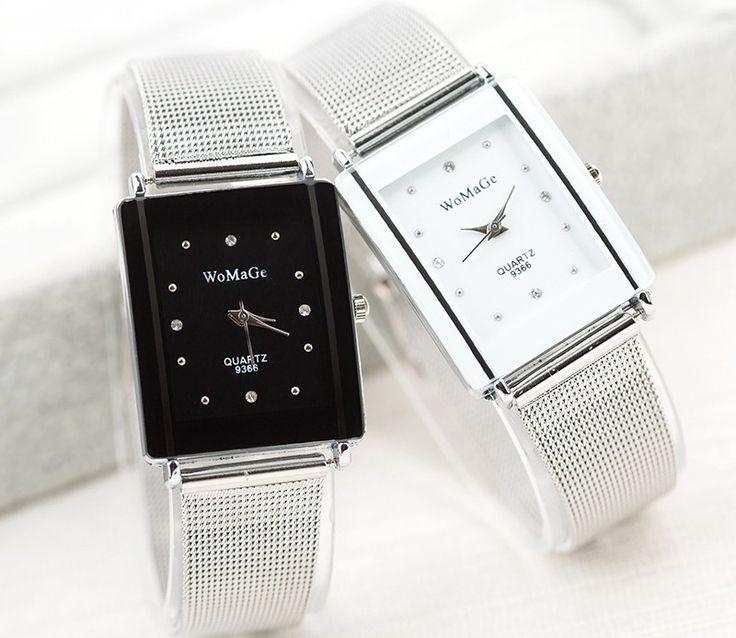Zegarek Srebrny HIT Bloger Womage Męski
