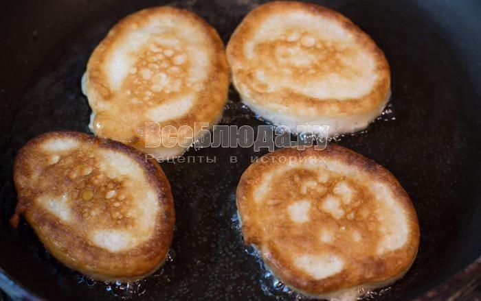 Пышные оладьи на кефире, идеальный рецепт оладушек с пошаговыми фото | Все Блюда