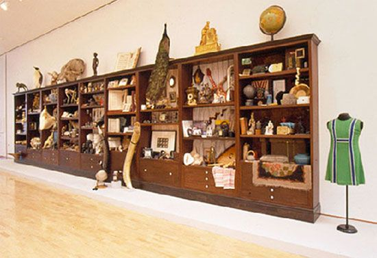Mark Dion|Cabinets of curiosities - 2001, Weisman Art Museum, Minnesota