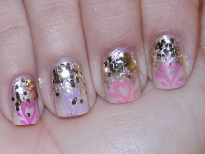 really sweet mani!    #ORLYNails, #ORLYCoolRomance