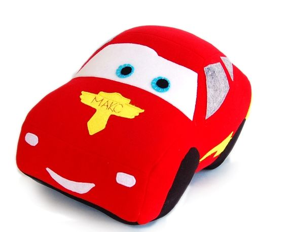 Free sewing pattern toy McQueen lightning Cars  Create your own McQueen car!