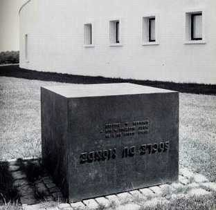 Piero Manzoni - Socle Du Monde (Base of the World)  1961.