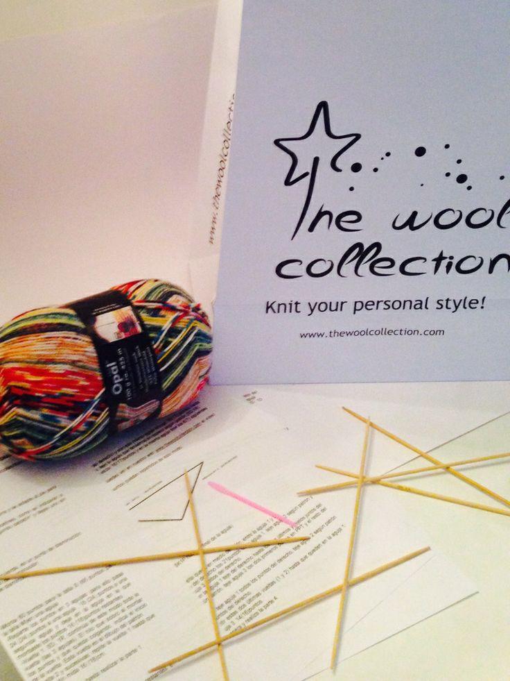 Kit para tejer calcetines! te enseñamos a tejerlos. #thewoolcollection #knitting #yarn #wool #tejer #socks #diy
