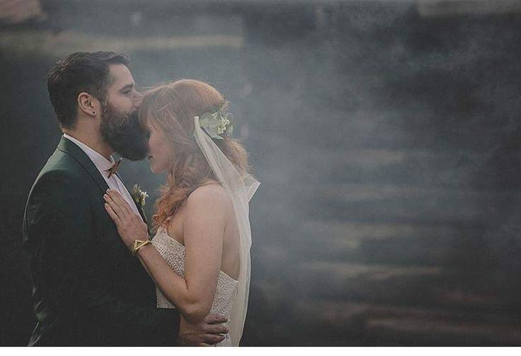 """""""Wild Love""""   #bohemian #boho #wedding #hochzeit #braut #bräutigam #wedding #bride #hochzeitsredner #freie #trauung #münchen #bayer #kleid #dress #flowers #blumen #hipster #romantic #chic #love #couple #dogs #alpen #groom #beard #bart"""