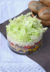 Taste me: Wegańska sałatka gyros