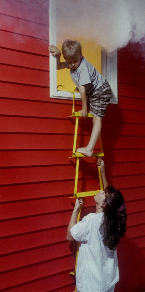 Kidsafe Home Safety X It Emergency Fire Escape Ladder 3
