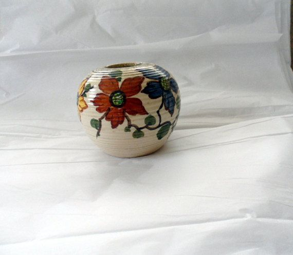 Vintage 1949  1950 Ceramic Hand Painted by BYGONERA on Etsy