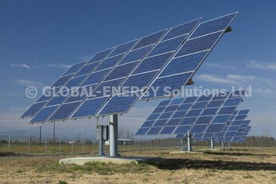 Solar parks by Global-enegy solutions ltd