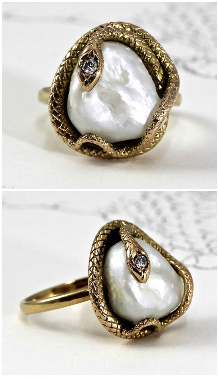 Ring Roundup Antique Snake Rings Snake Ring Snake
