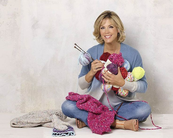 One of the most wonderful ladies I have had the opportunity to meet and call my friend is Deborah Norville, an award winning anchor and author. But what fascinated me about her was that she used sewing as her talent to win the Georgia Junior Miss Pageant, and has continued her passion by starting her own collection of yarn with Premier Yarns.