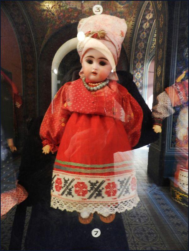 Русский текстиль в музее академии Штиглица.