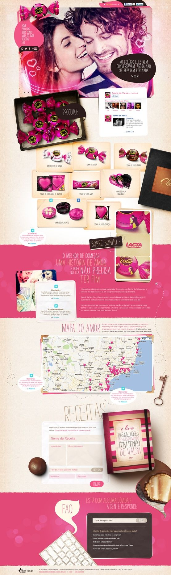 #Creative #webdesign with a splash of crazy #pink!