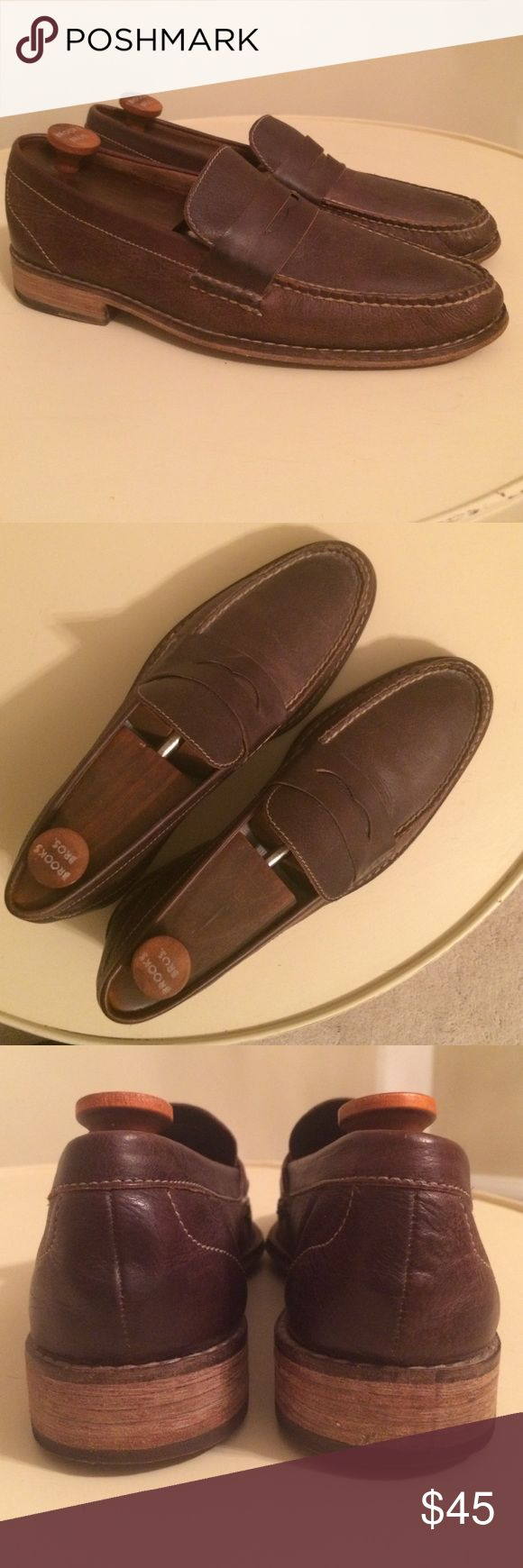 Cole Haan brown leather loafers. Size 10m Nike air Good condition.  Inserts included (shoe trees not included) Cole Haan Shoes Loafers & Slip-Ons
