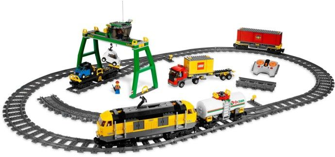 7939-1: Cargo Train | Brickset: LEGO set guide and database. Just got this. ~Eppa Dimmick