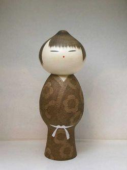 BEAUTIFUL JAPANESE SOSAKU KOKESHI DOLL 「Mushin 」byWATANABE MASAO | eBay