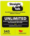 Prepaid SIM Cards| No Plan Cell Phones | Straight Talk Wireless