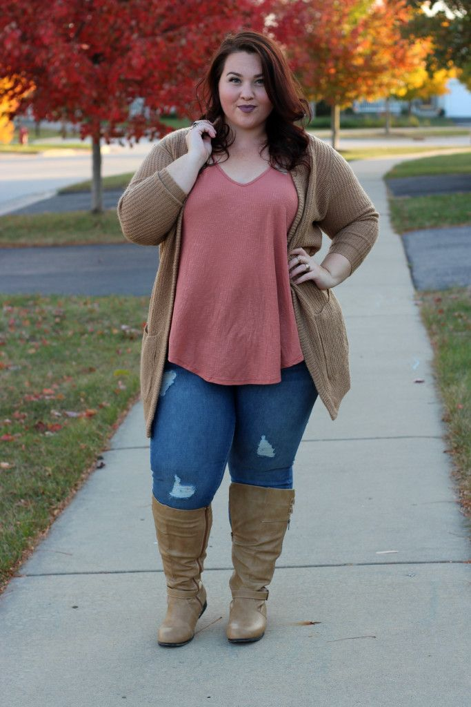 Plus Size Fashion For Women Sweater Weather Plus Size